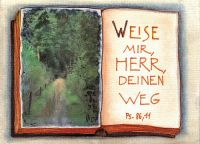 impact e.V. Postkarte Weg (Norbert Busch)